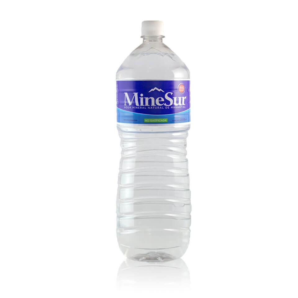 botella 2 litros agua mineral